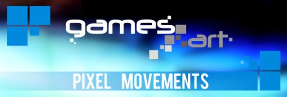 GamesArt Pixel Movements: Rot Grün Sehschwäche