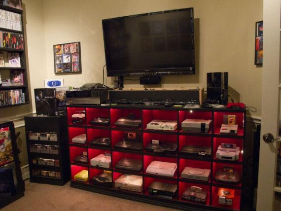 Pete Hat Das Wohl Perfekte Wohnzimmer Für Alle Gamerfreunde! Bilder Sagen  Bekanntlich Mehr Als Worte, Deshalb Genießt Was Ihr Hier Zu Sehen Bekommt!