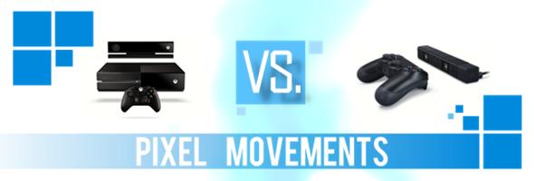 GamesArt Pixel Movements: PlayStation 4 vs. Xbox One