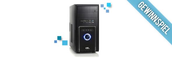 Gewinnspiel PC System CSL Sprint 5700 (Quad)