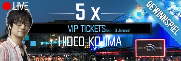 Gewinnspiel: Hideo Kojima MGS5 Preview Event VIP