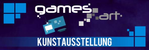 GamesArt Kunstaustellung